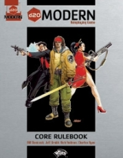 Cover of D20 Modern Core Rulebook