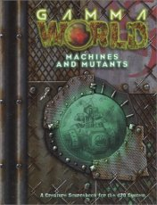 Cover of D20 Modern Machines And Mutants.